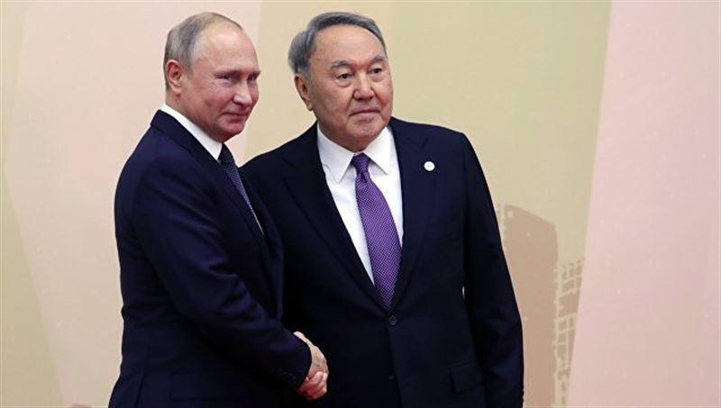 Нурсултан Назарбаев прибыл на форум в Петропавловск