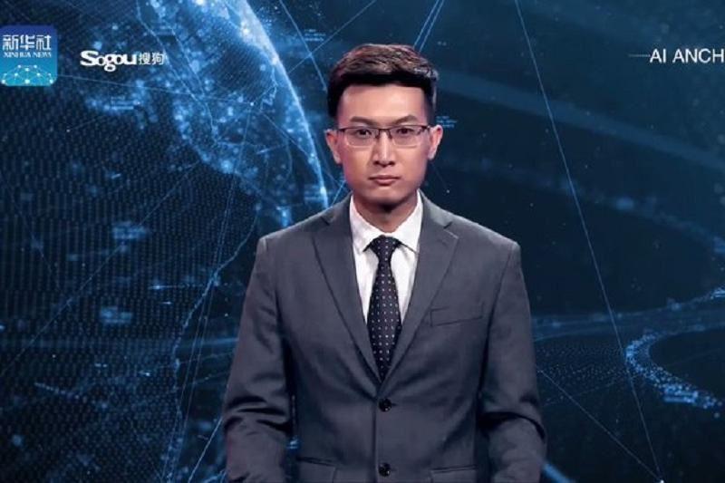 ВИДЕО: Жаңалықтарды виртуалды диктор жүргізе бастады