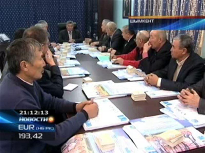 Члены партии «Ауыл» агитировали жителей Южного Казахстана