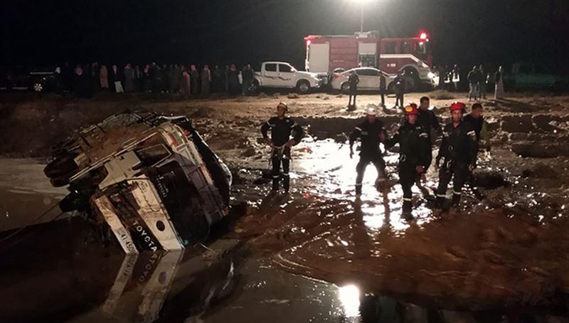 Наводнение в Иордании унесло жизни семи человек