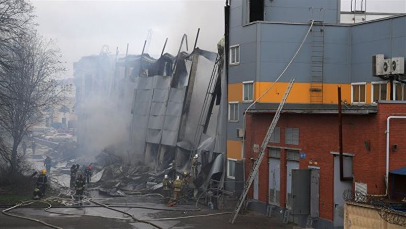 Санкт-Петурбургтегі гипармаркеттердің бірінде өрт болды
