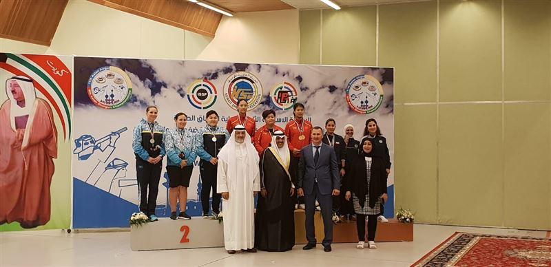 Стенд атудан Азия чемпионатында Қазақстан екі медаль еншіледі