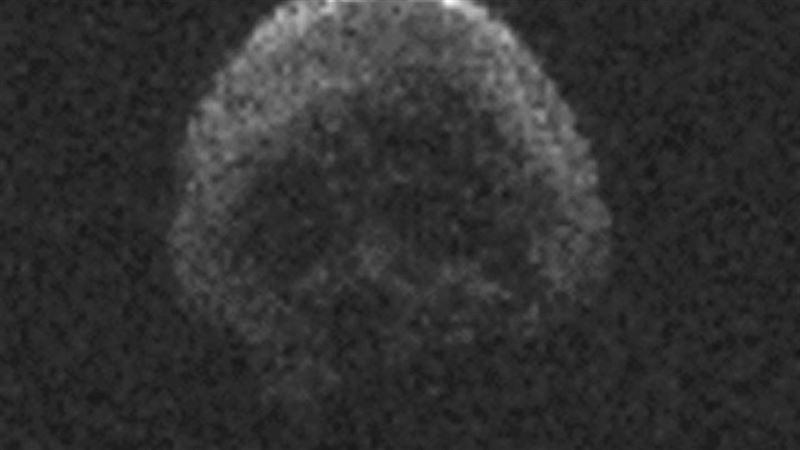 Ученые сообщили о приближении к Земле «кометы смерти» в виде черепа