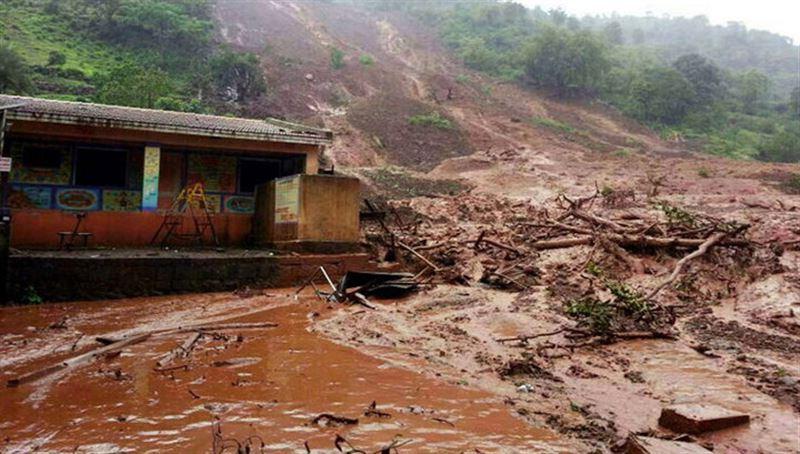 При сходе оползня в Бразилии погибли 10 человек