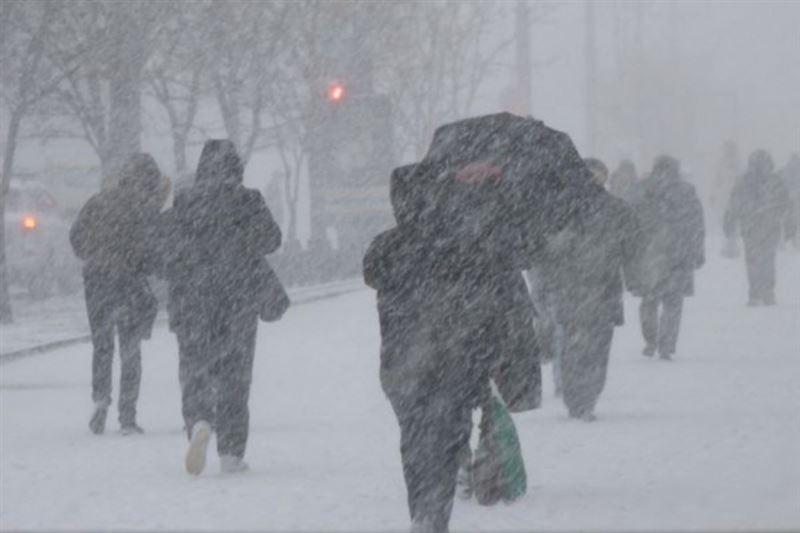 Снегопад ожидается в Казахстане 12 ноября