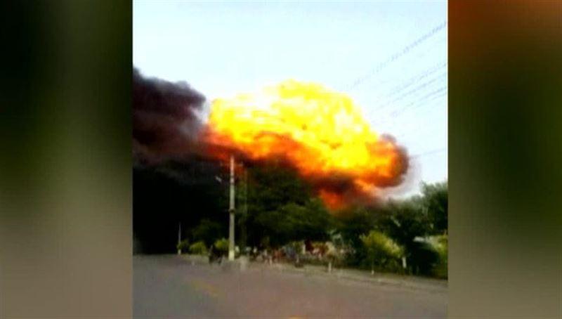 Шесть человек погибли при взрыве на заводе в Китае