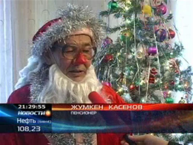 Самый пожилой Дед Мороз нашей страны живет в Семее
