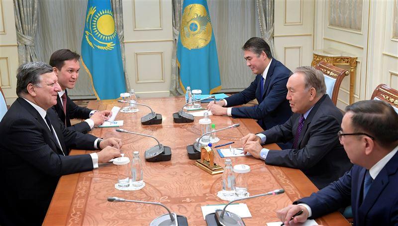 Президент встретился с бывшим председателем Еврокомиссии
