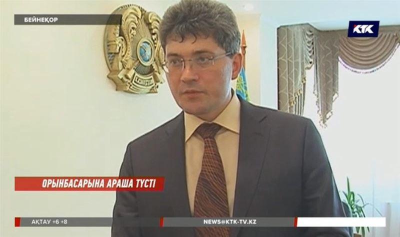Энергетика вице-министрі тергеушілерге куәгер ретінде жауап беріп жатыр
