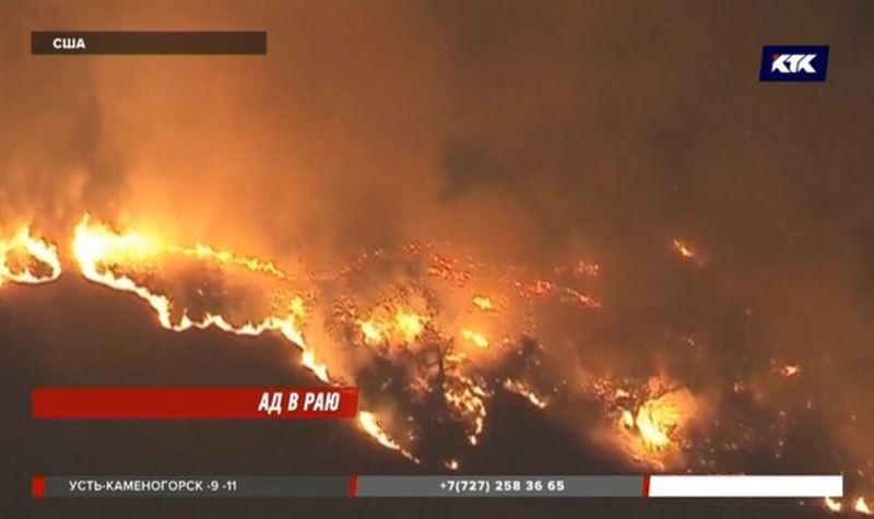 Голливудские звезды делают фото своих сгоревших особняков