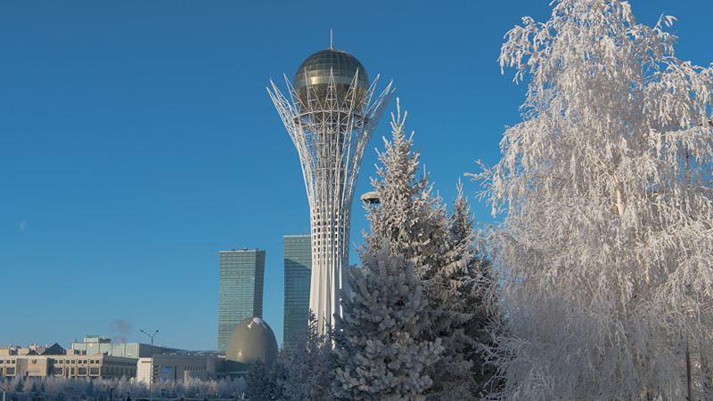 Холодная без осадков погода ожидается на большей части территории Казахстана