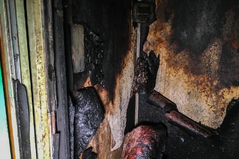 Көкшетауда лифті өртеніп, 22 адам құтқарылды