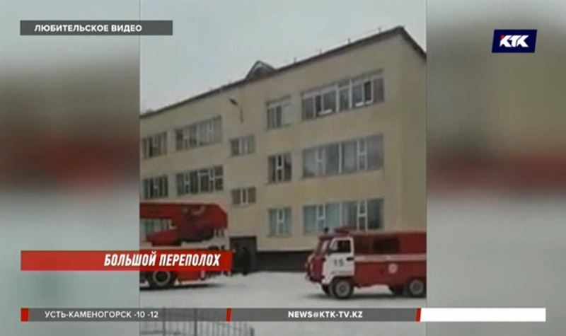 Столичных учеников вывезли на автобусах за территорию школы