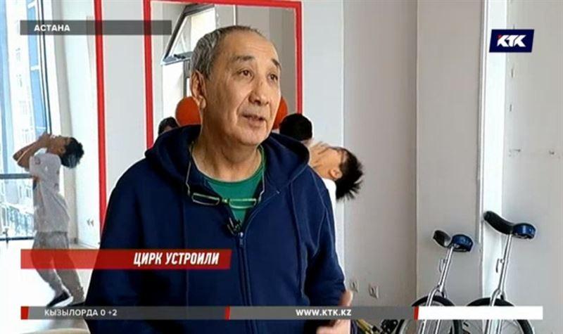 В Астане обидели известного казахстанского клоуна