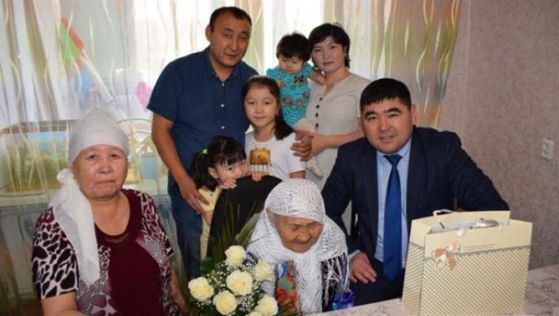 Жительница Костаная отметила 110-летие