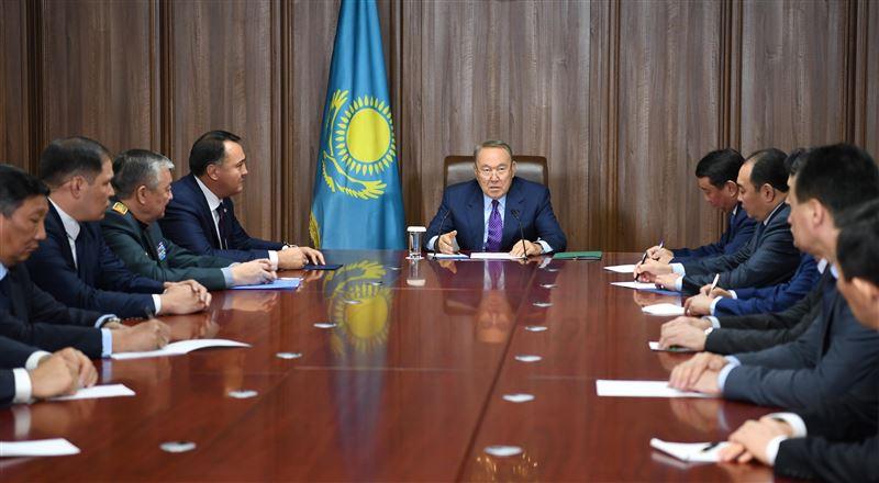 Президент встретился с руководящим составом Службы госохраны РК
