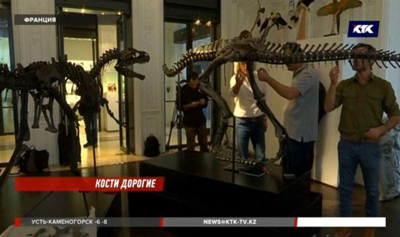 Во Франции на торги выставят динозавров, которым около 180 миллионов лет