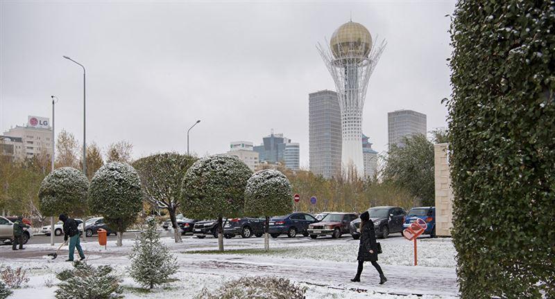 Погода без осадков ожидается на большей части Казахстана 16 ноября