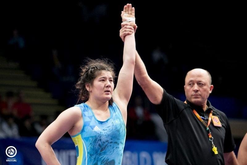 Қос қазақстандық балуан қыз әлем чемпионатының жүлдегері атанды