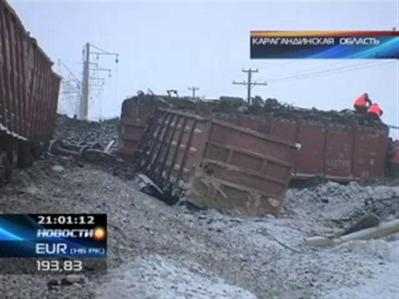 В Карагандинской области авария парализовала движение поездов