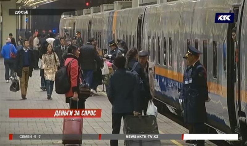 Невероятными темпами дорожают билеты на поезд
