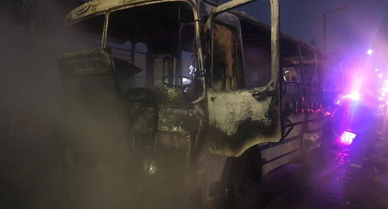 Автобуста отырған 42 адам тірідей жанып кетті