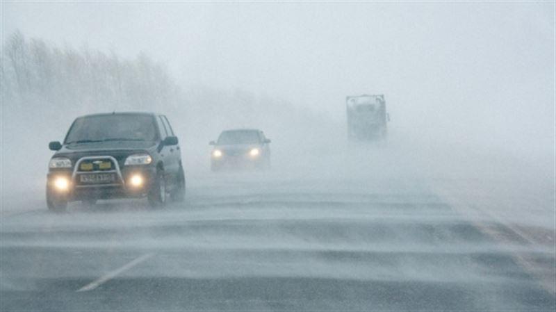 В субботу в некоторых местах Казахстана ожидаются туман и гололед