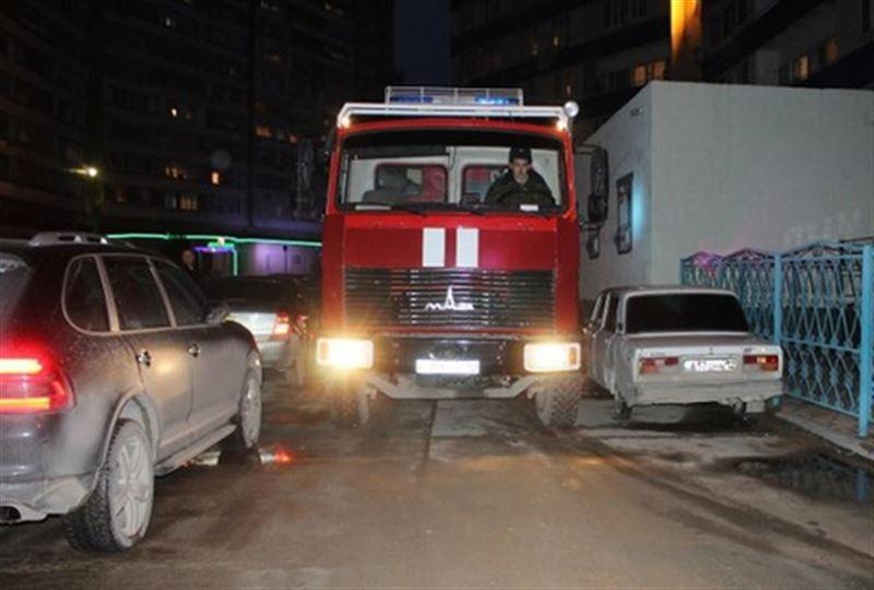За минувшую ночь в Актау произошло три пожара