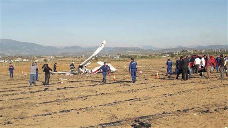 В Турции произошло крушение учебного самолета