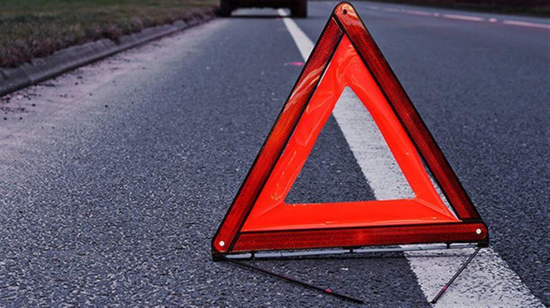 Автобус, ехавший из Казахстана, попал в аварию в России