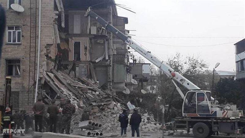 В Азербайджане в жилом доме произошел взрыв
