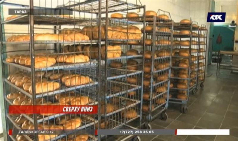 В Таразе подорожавший хлеб опять подешевел