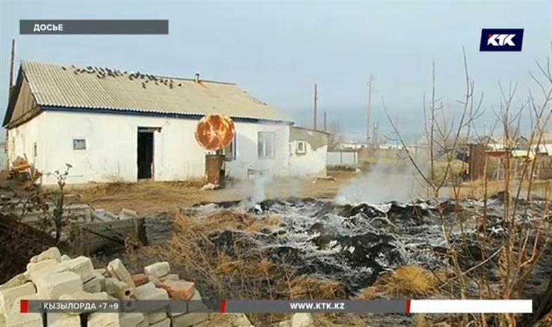 Кто поджигает сено в актюбинском селе, выяснит следственная группа