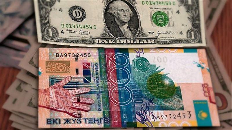 За торговую неделю доллар подешевел на 1,25 тенге