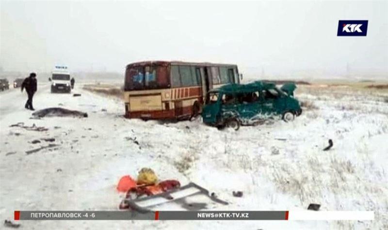 На трассе Караганда - Сарань погибли люди