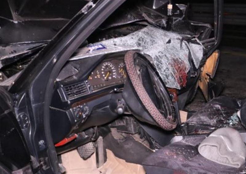 Жуткая авария произошла ночью на Капчагайской трассе
