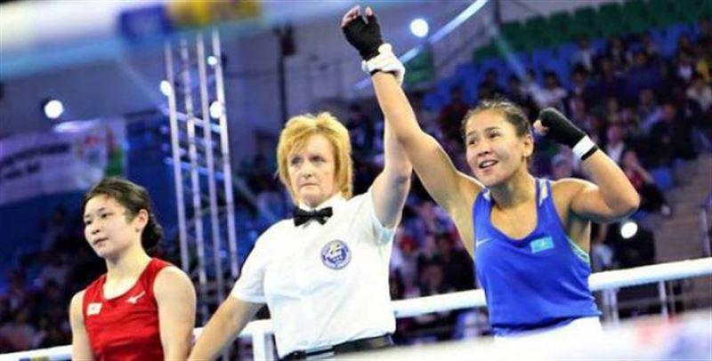 Жайна Шекербекова бокстан әлем чемпионатында күміс медаль алды