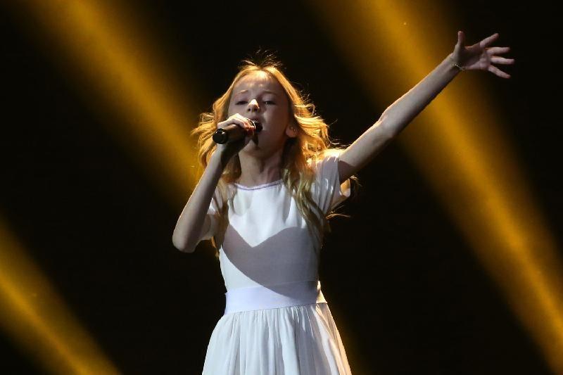 Данэлия Төлешова «Балалар Евровидениесінде» 6-орын алды