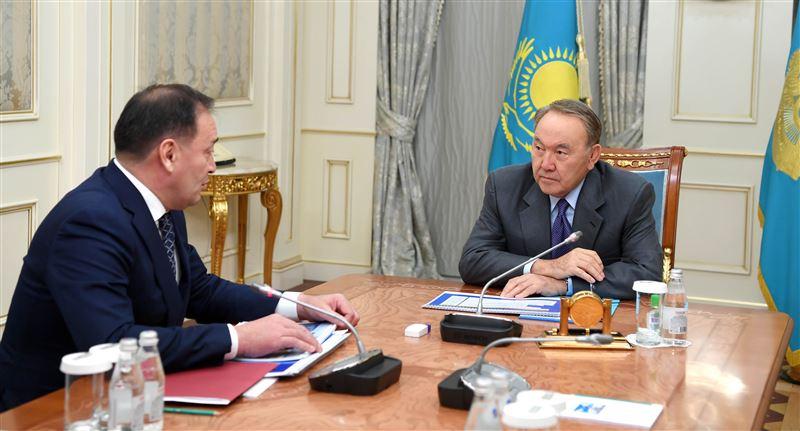 Нурсултан Назарбаев принял акима Мангистауской области