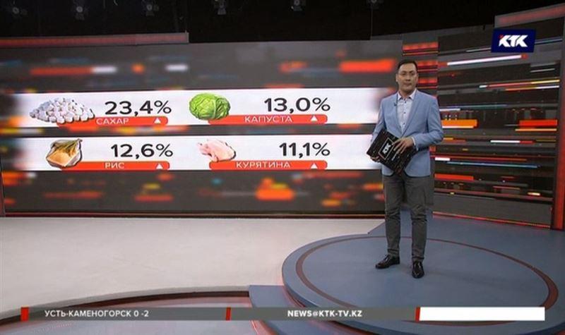 Продукты в Казахстане дорожают – сахар, рис и капуста больше всего
