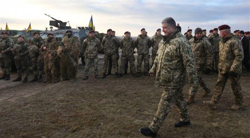 Украинада соғыс жағдайы енгізілді