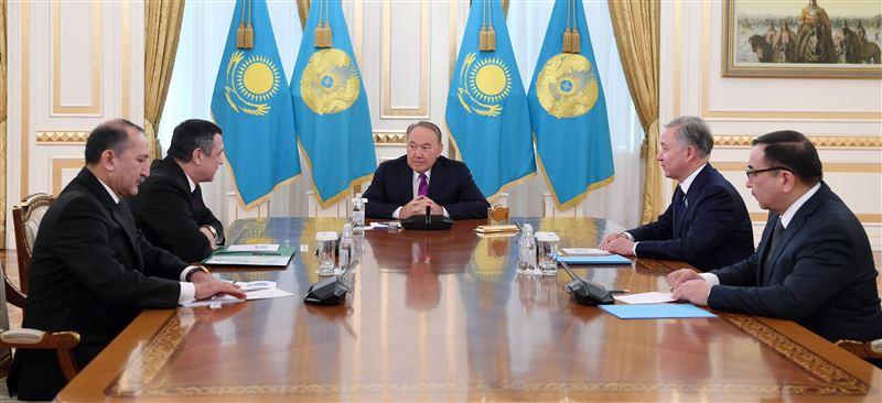 Нурсултан Назарбаев встретился со Спикером Мажилиса Узбекистана