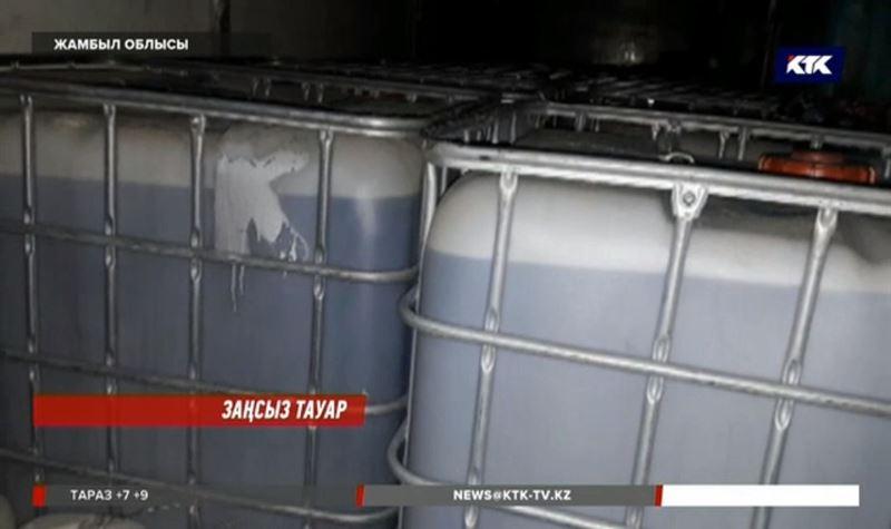 Жамбылда 20 тонна этил спиртін жасырын тасымалдағандар ұсталды