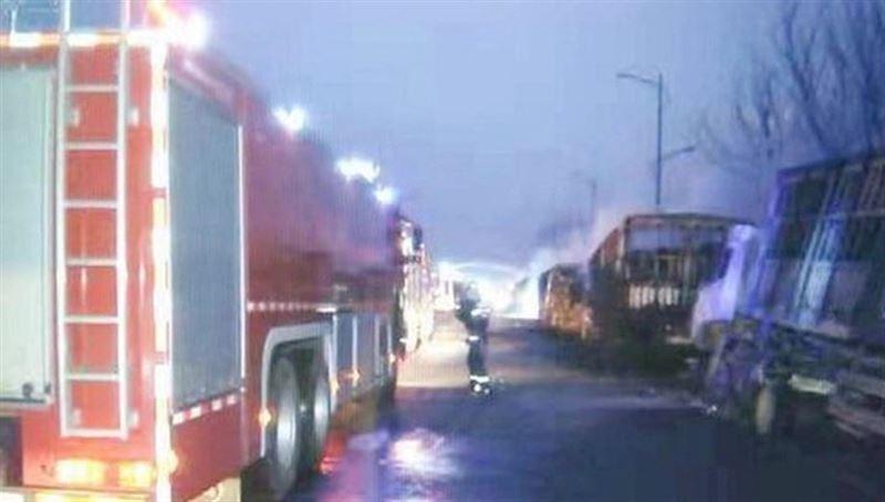 Взрыв возле химзавода в Китае: погибли более 20 человек