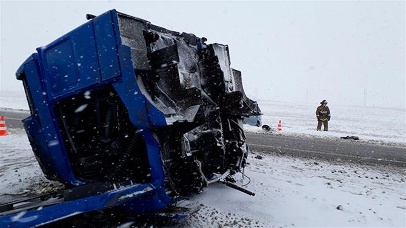 Пять жителей Актюбинской области погибли в результате аварии в России