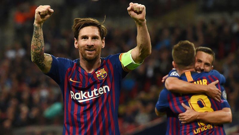 Месси обошел Роналду по числу голов за один клуб в Лиге чемпионов