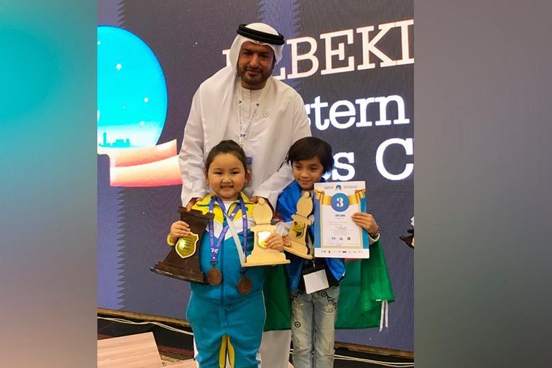 6 жасар қазақстандық шахматшы Ташкентте медаль алды
