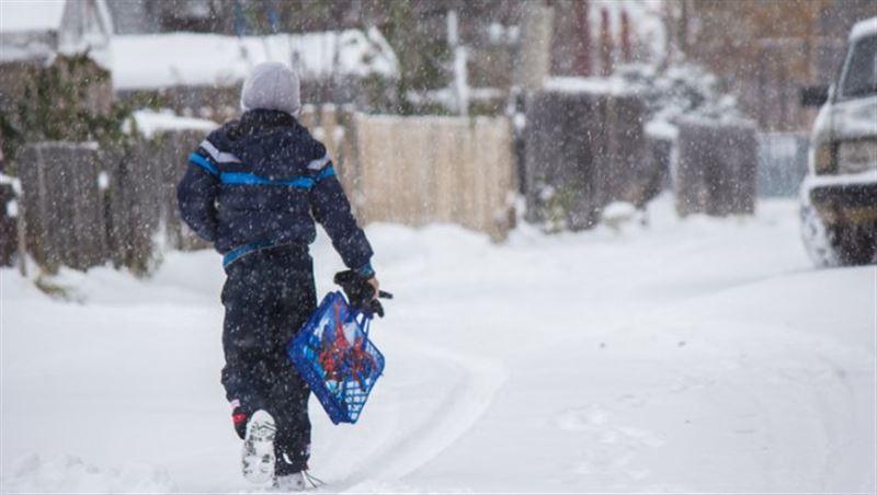 В Астане отменили занятия в школах из-за ухудшения погодных условий