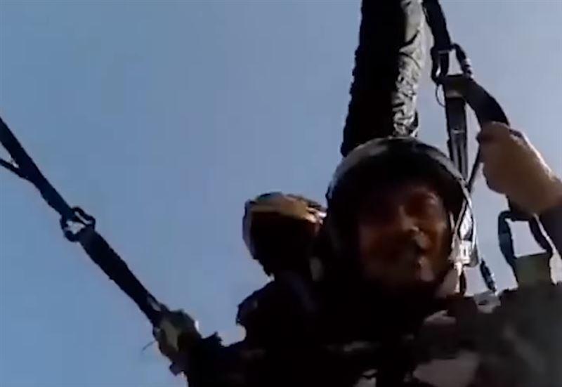 Турист запечатлел на видео гибель своего спасителя