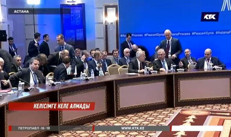 Сирия келіссөздеріндеоппозиция өкілдері Түркияны айыптады